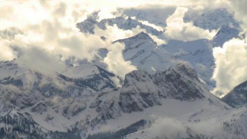 Alpenpanorama Ballonfahrt