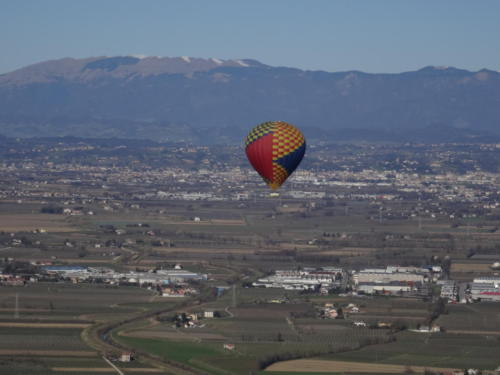 Ballonfahrt in Nord Italien